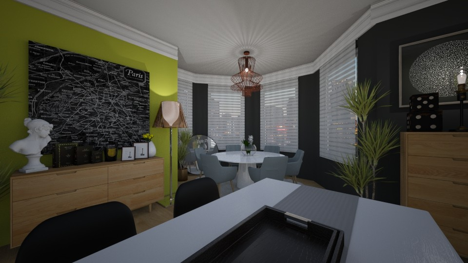 greenscreen - Modern - Dining room - by MiaM