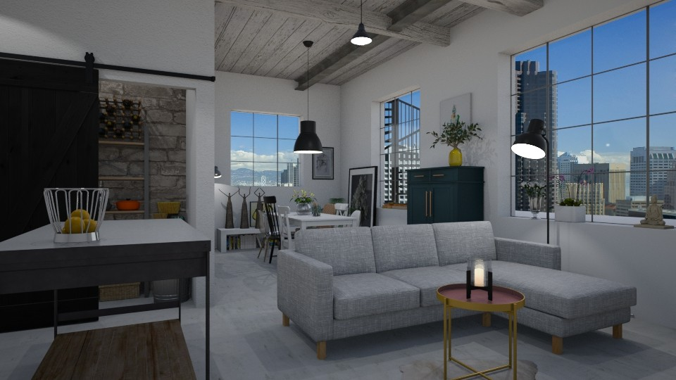 Expat - Minimal - Living room - by Annathea