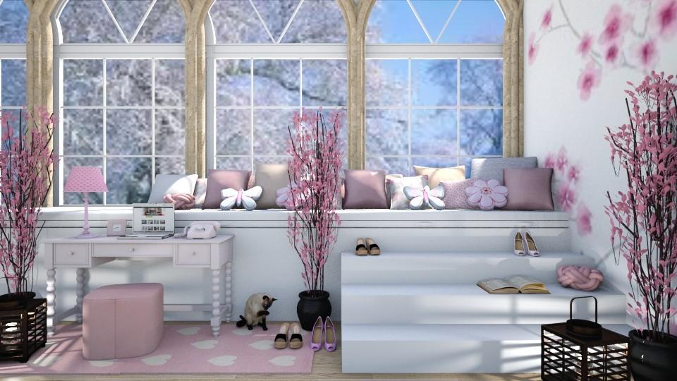 Pink Girly Bedroom - Modern - Bedroom - by millerfam
