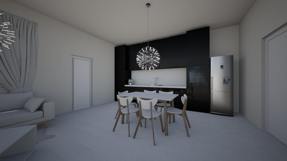 My kitchen - Kitchen - by __Nikoletta__