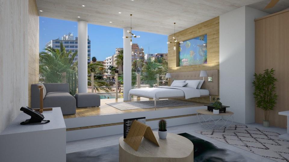 Forever Summer - Modern - Bedroom - by RedPandaRooms
