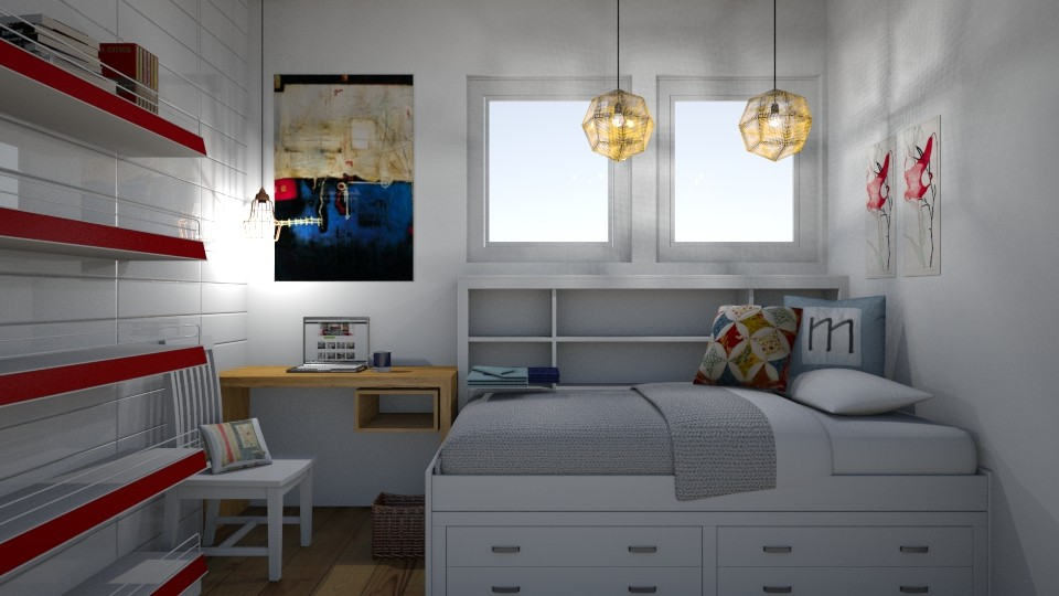 Small Bedroom 1 - Eclectic - Bedroom - by XiraFizade