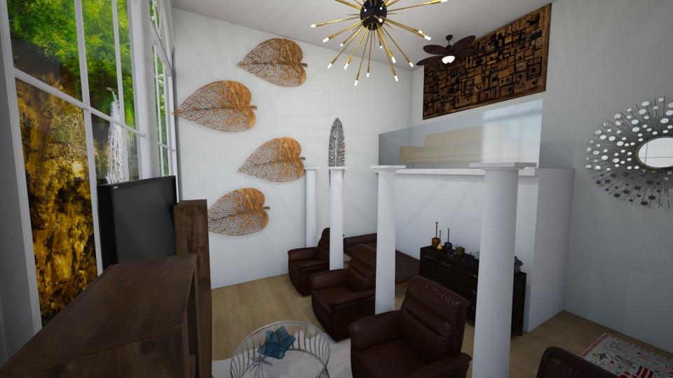 Column life - Modern - Living room - by bleeding star