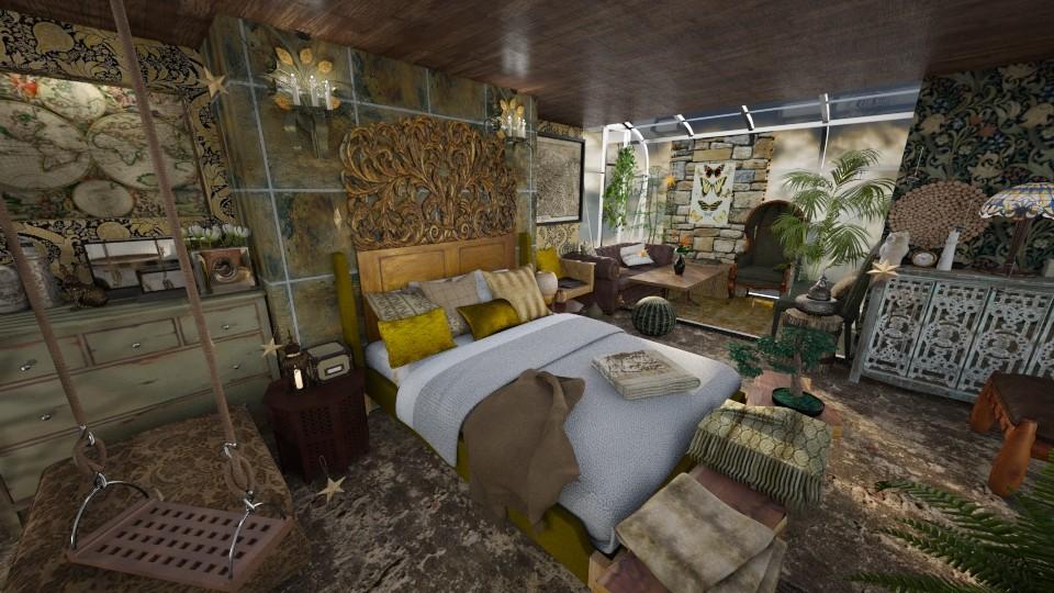 Modern Bohemian Bedroom - Bedroom - by luna smith