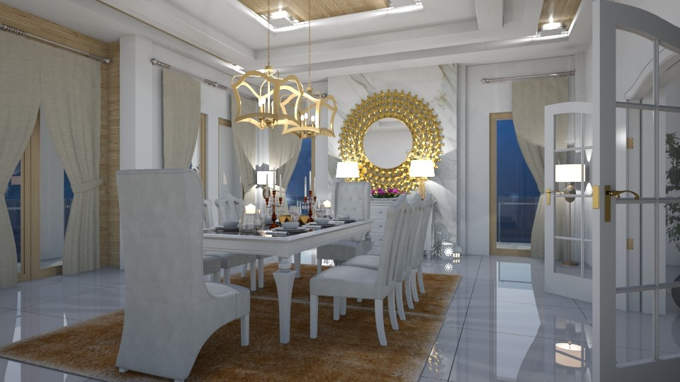 15122017 - Classic - Dining room - by matina1976