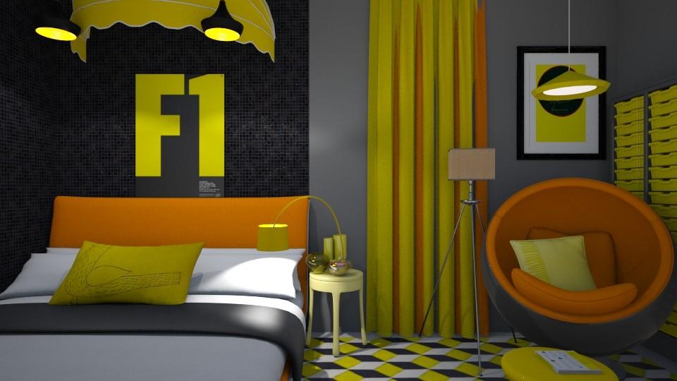 Small Bedroom 36 - Modern - Bedroom - by XiraFizade