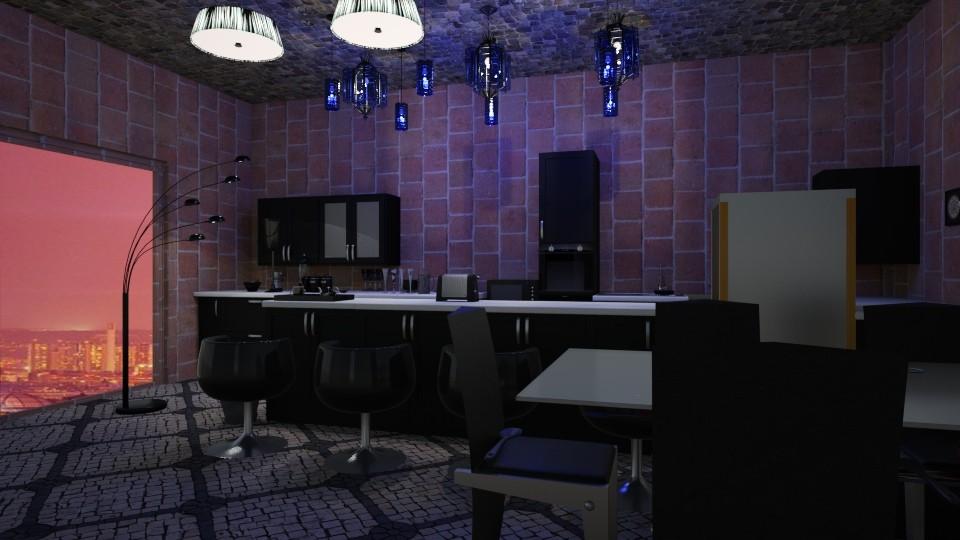 Black Kitchen - by LittleKittens