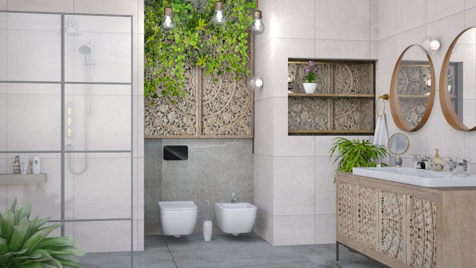 M_Mandara - Bathroom - by milyca8