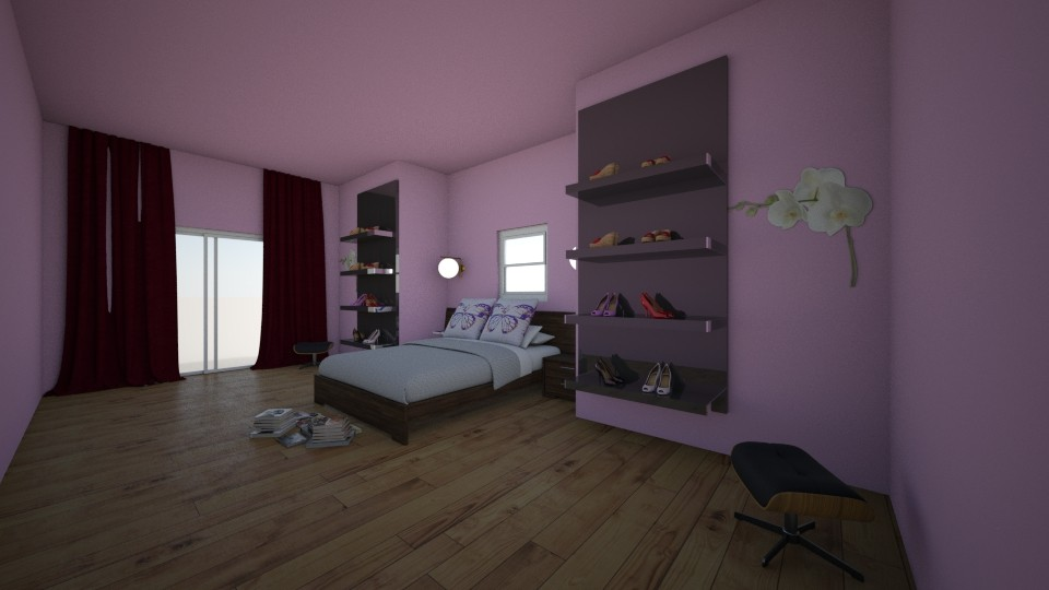 Annas bedroom - by Anna_be