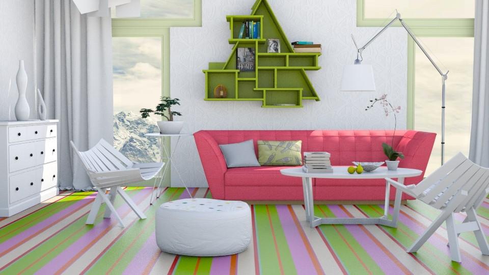 white items - Living room - by Liu Kovac