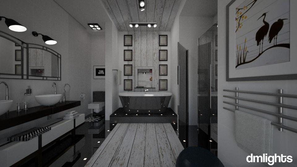 Masterbath - Modern - Bathroom - by LucretiaC