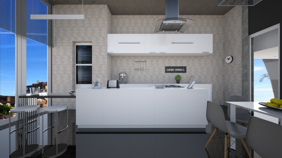Concret - Kitchen - by Valeska Stieg
