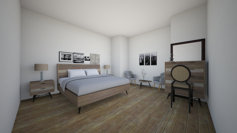 sdsd - Bedroom - by Yessica Cabrera