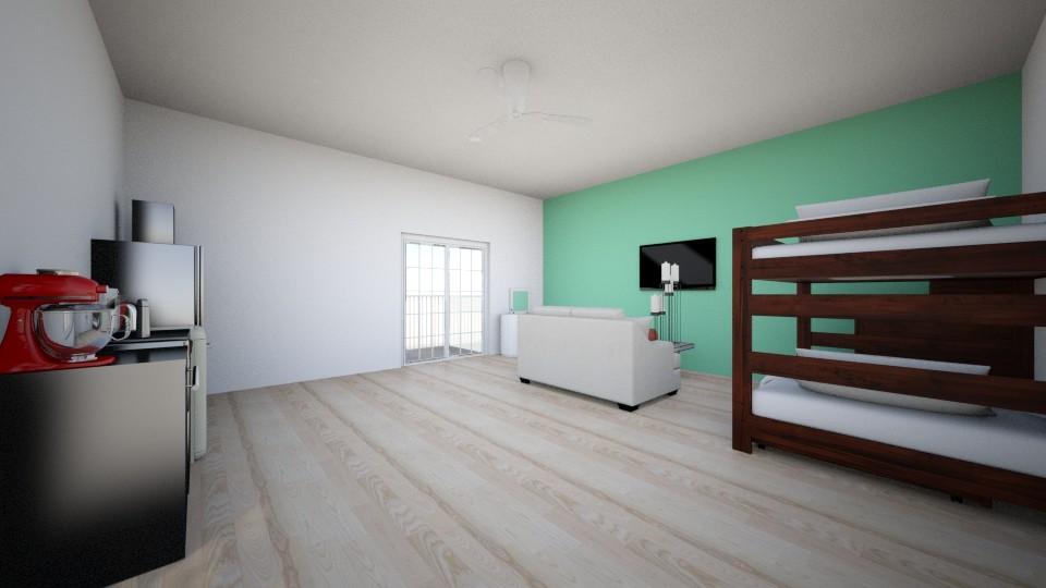 College dorm - Modern - by Zandra Docken