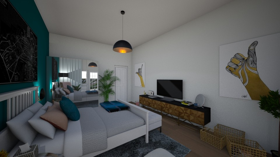 First floor bedroom - Bedroom - by LetiG