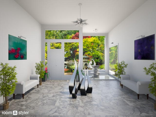 Modern Foyer  - by Themis Aline Calcavecchia