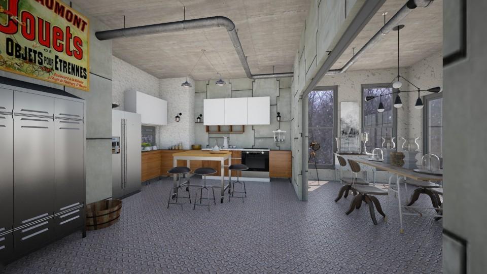 Easy Kitchen - Kitchen - by Sher02