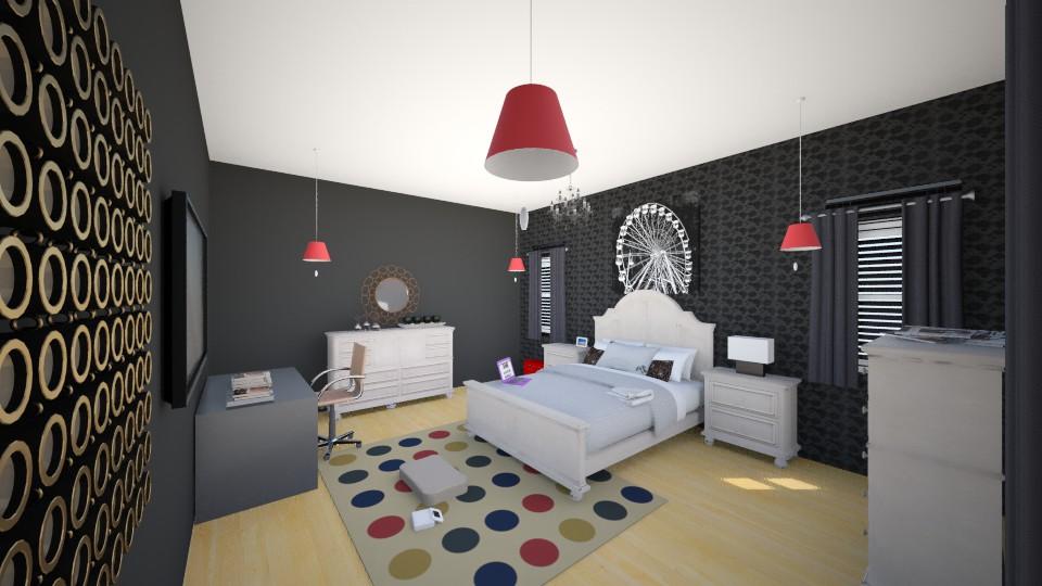 goth - Feminine - Bedroom - by ariaw