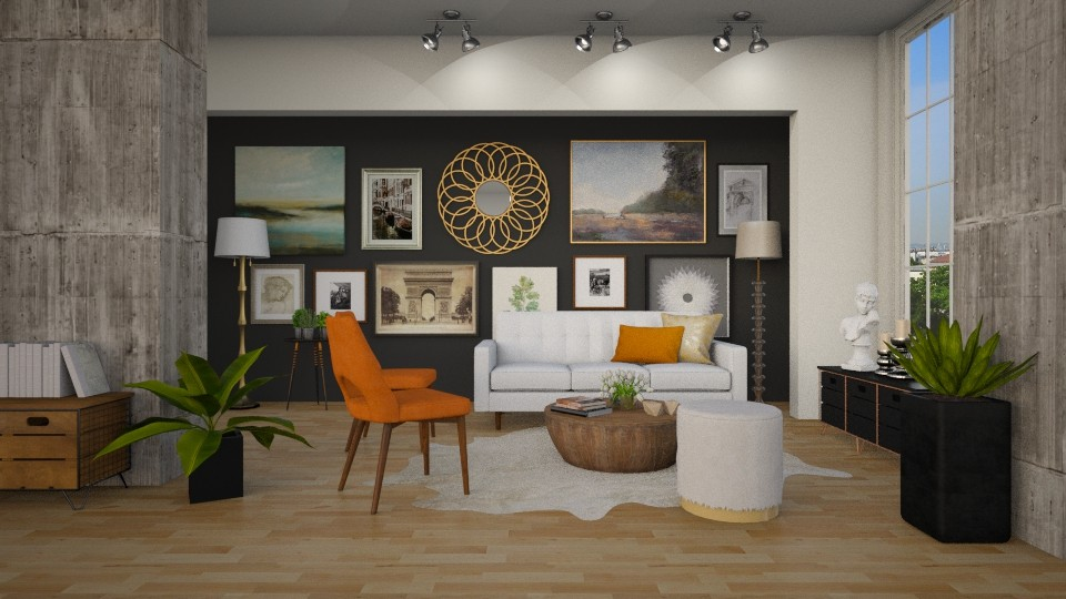 eclectic - Living room - by MiaM