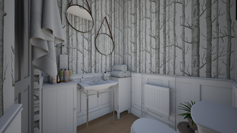 House Makeover Toilette  - Bathroom - by niidurose
