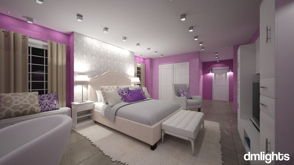 Holly Lauren Room - Bedroom - by DMLights-user-1186190