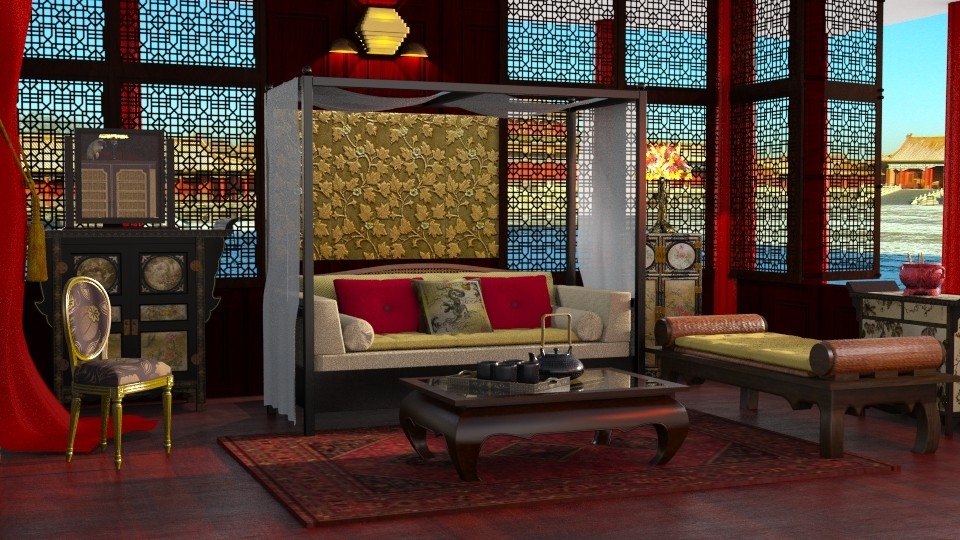 Empress gold 2 - Modern - Living room - by anchajaya