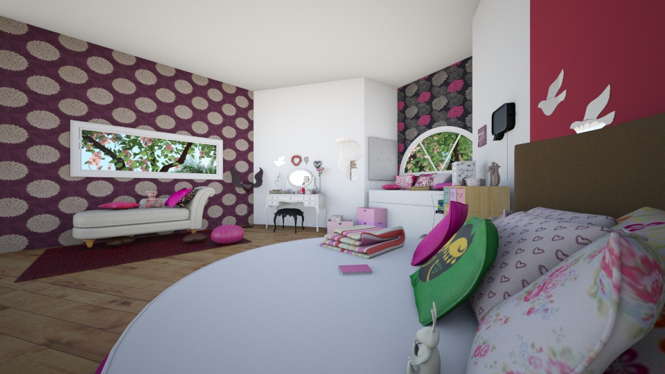 levy - Feminine - Bedroom - by levynini