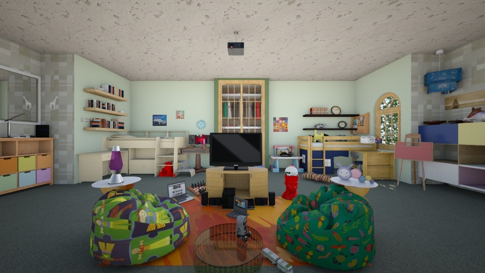 Hicks Kids Room - by Dulce Diosa