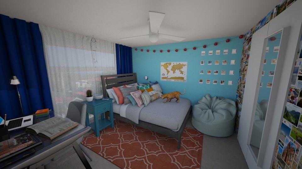 New Zealand Girl Bedroom - Bedroom - by  Keira