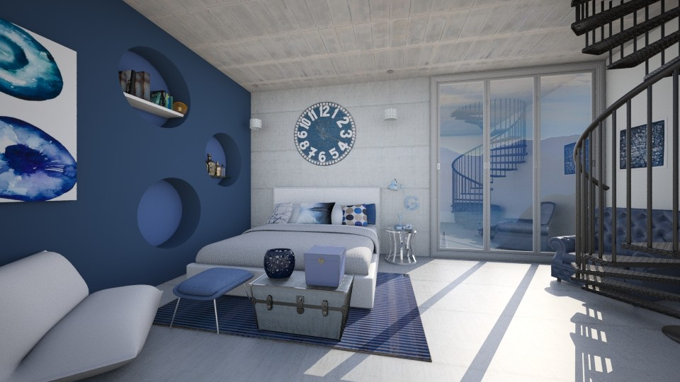 OCEAN  - Modern - Bedroom - by Georgina Holly