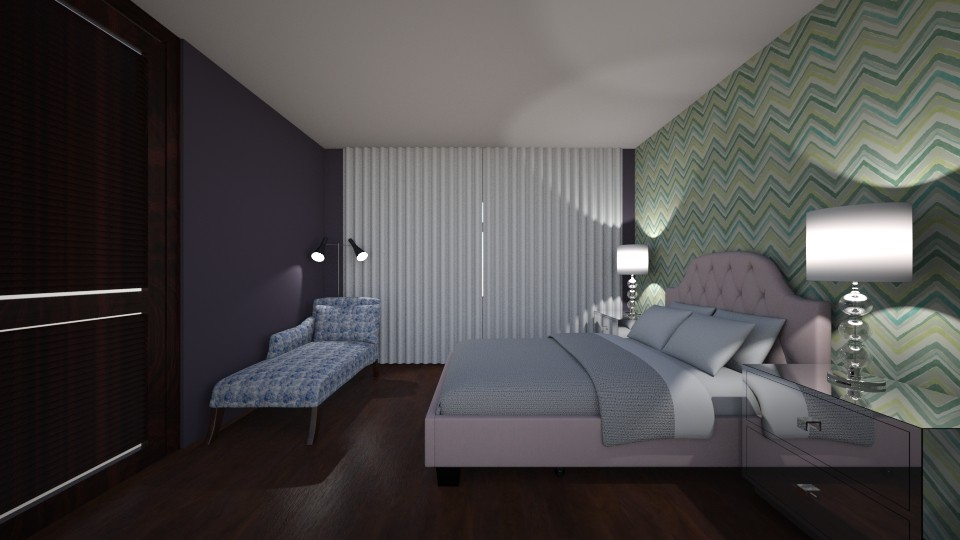 Chamber 1 - Bedroom - by Raymond Hill_Crate and Barrel_SFCA