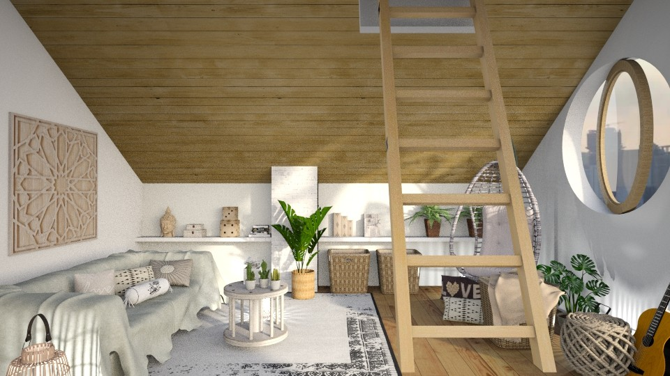 Attic Space - by ariema
