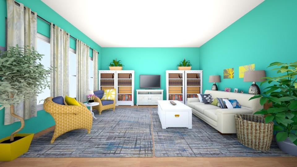 Washington living room - Living room - by ashstrider