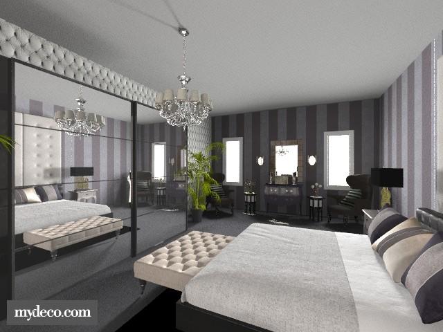 uncomplete - Bedroom - by purplepantha