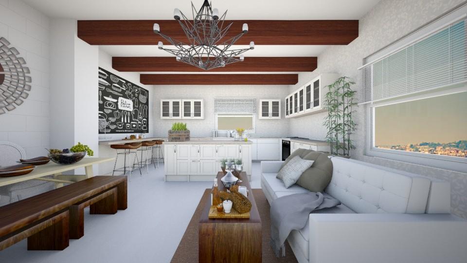 contest - Living room - by Sara Flores