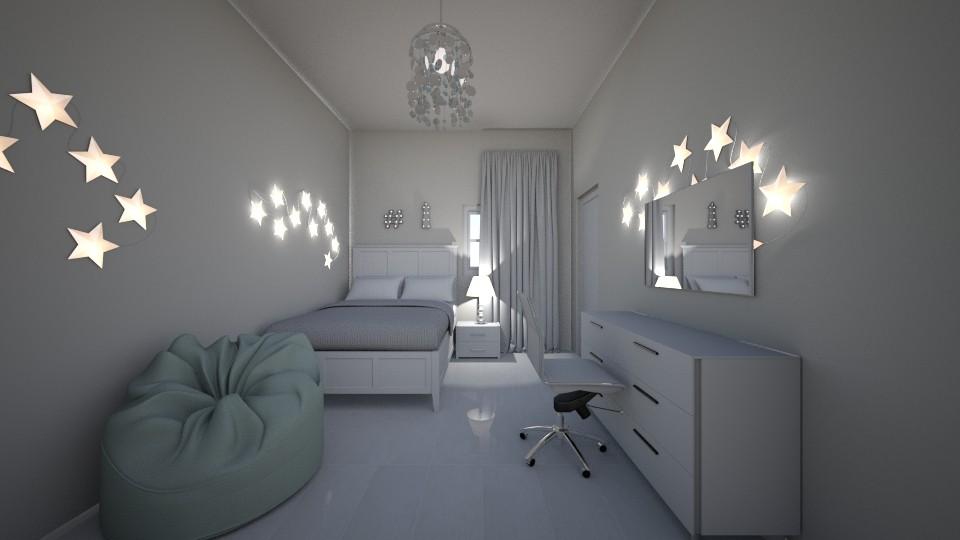 My bedroom - Bedroom - by __Nikoletta__