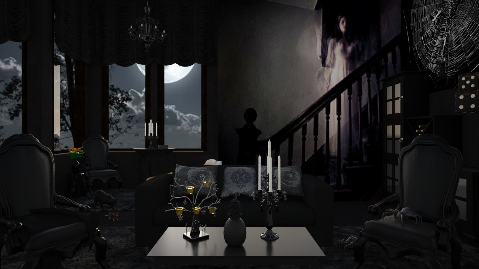 Design 217 Haunted House Living room by Daisy320