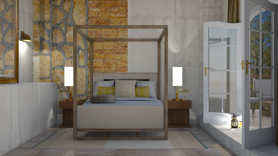 Feature wall - Bedroom - by rebsrebsmmg
