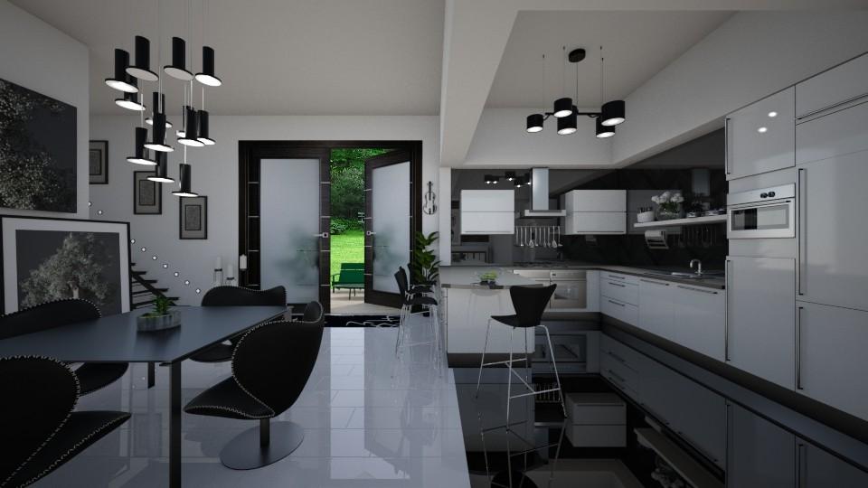 Ebony Kitchen - by Lackew