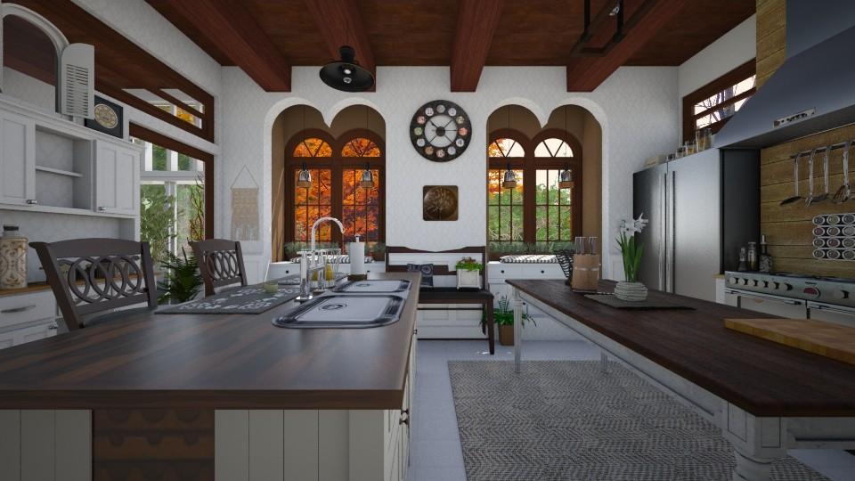 Simple Life - Kitchen - by SimonRoshana