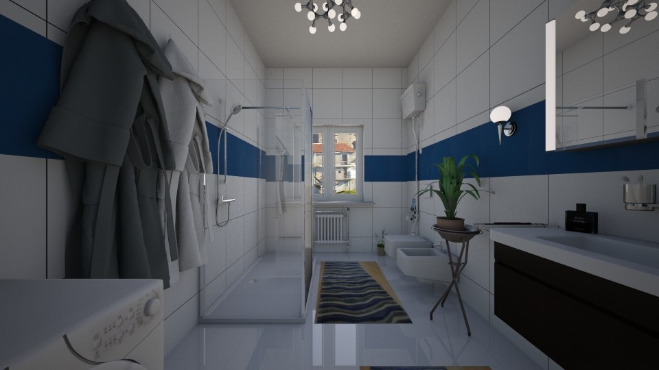 my bathroom - by Angela Quintieri