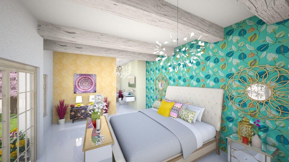 Vorbei  - Bedroom - by Isabella Enriquez Rayranht