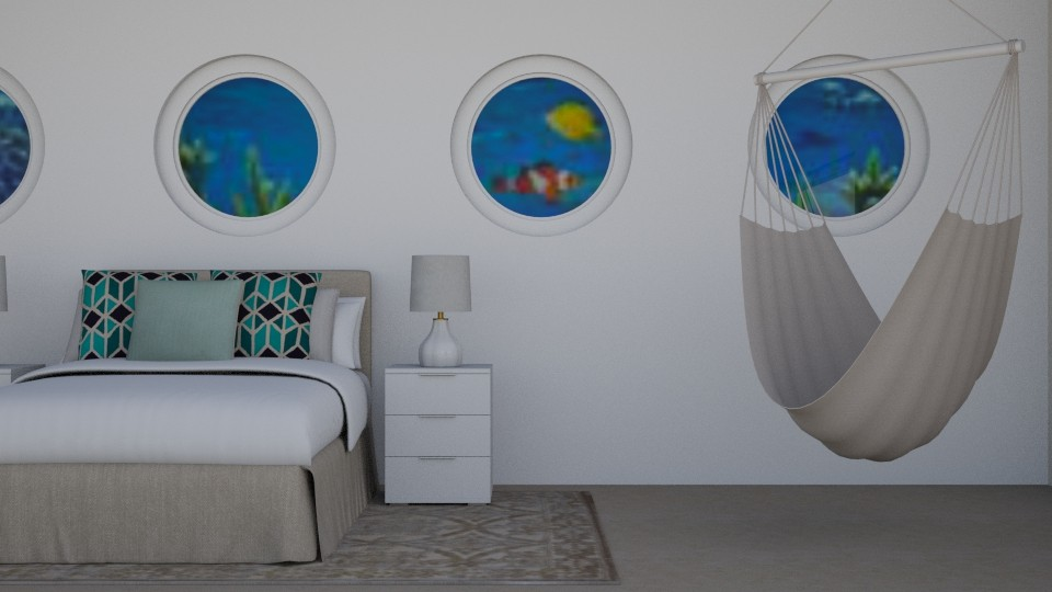 Cruise Cabin - Bedroom - by stephendesign