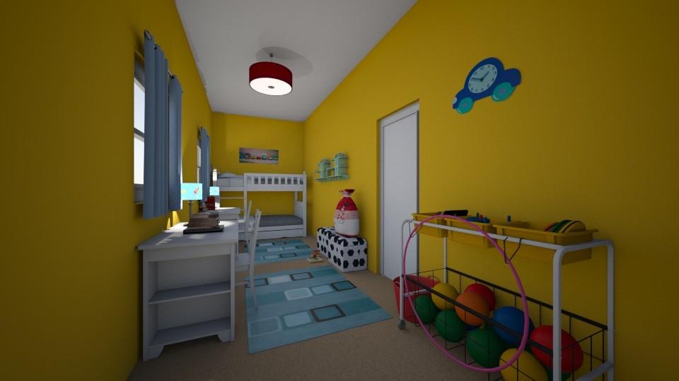 habitacion1 - Bedroom - by aceitunilla
