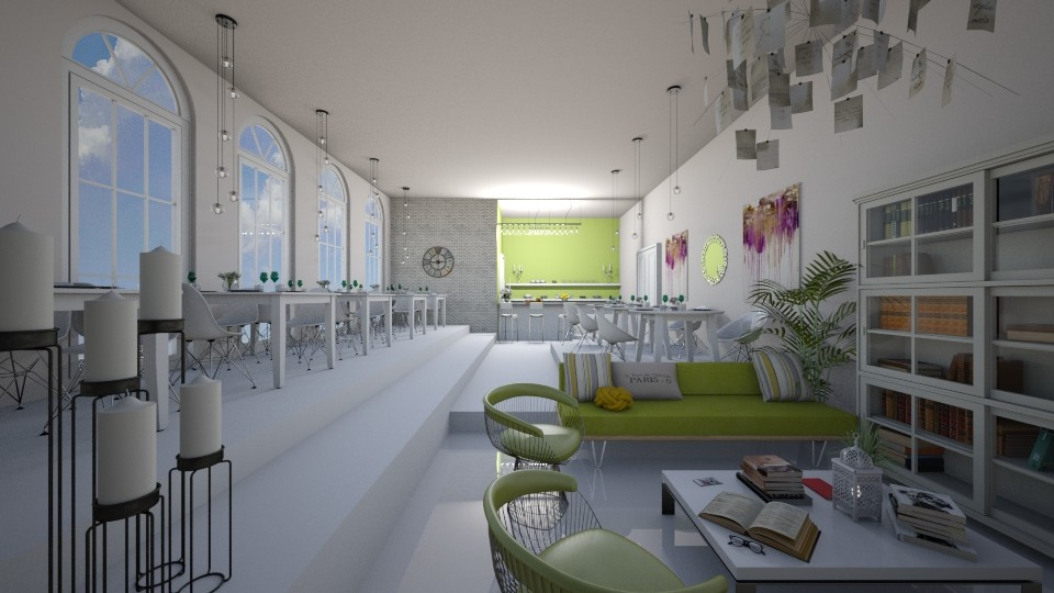 business dining - Dining room - by cuneyt oznur