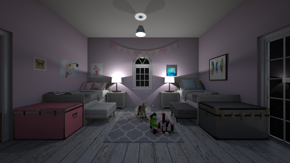 far apart - Bedroom - by emsph