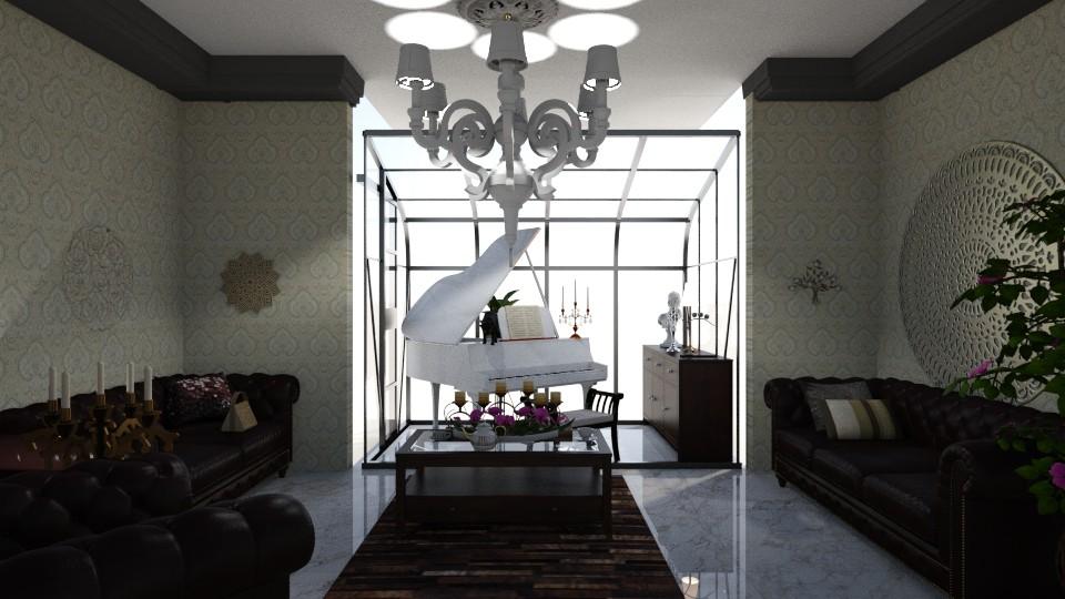 piano dream - Living room - by nat mi