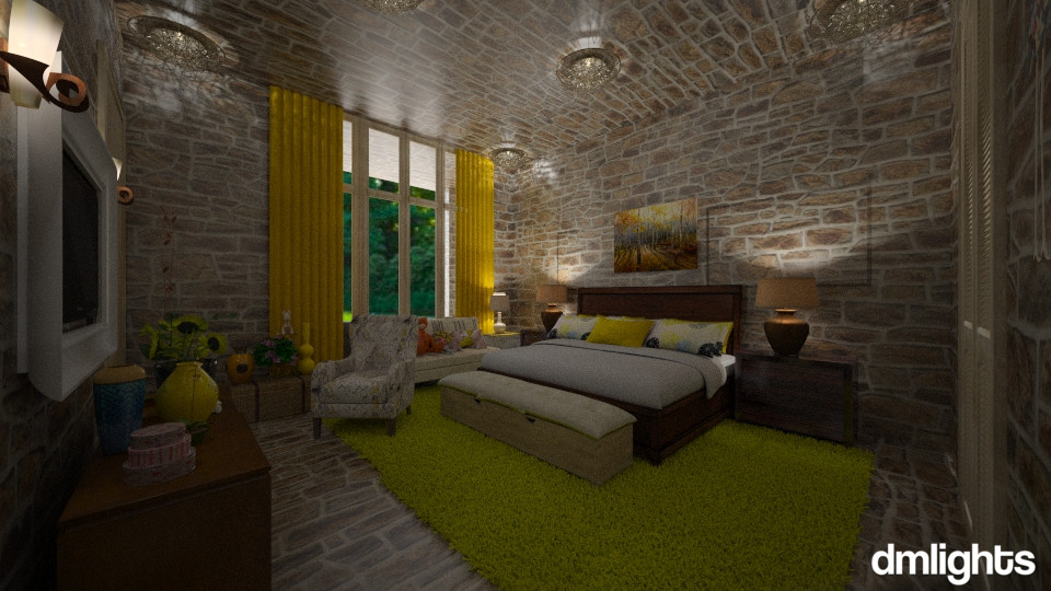 Bom Dia  - Bedroom - by DMLights-user-994540