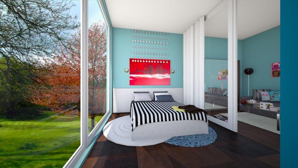 Contemporary - Bedroom - by Jhiinyat