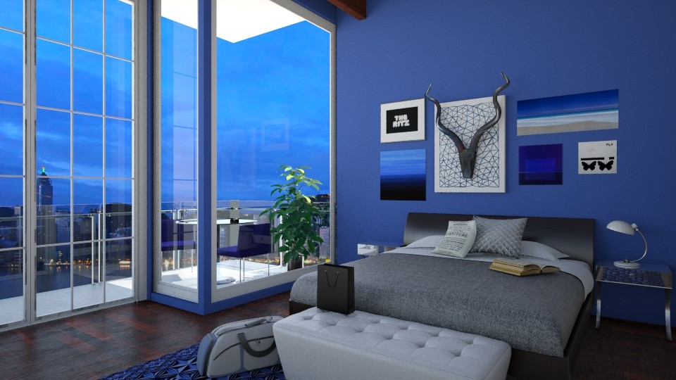 Harbour Highrise - Modern - Bedroom - by hellokiwe